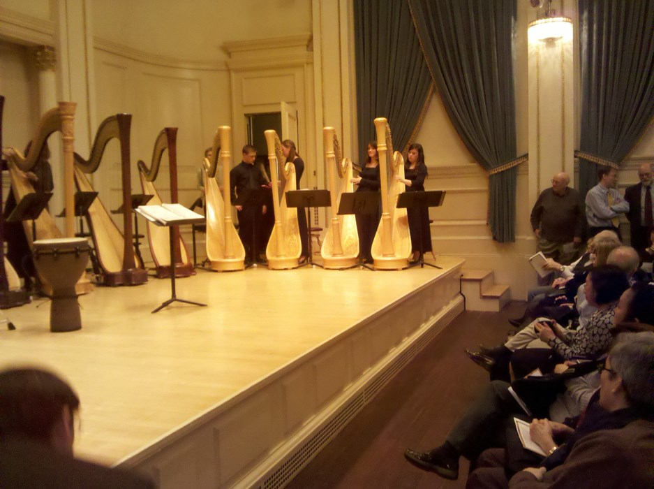 Playing with AYHE at Carnegie Hall!