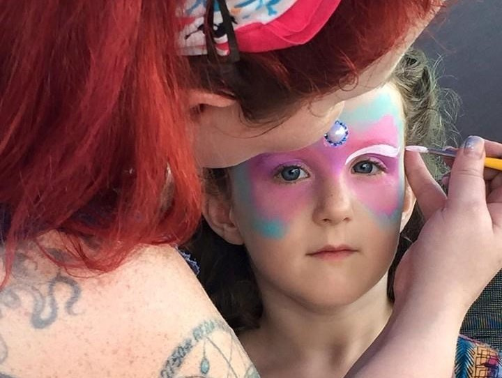 Face painting by Kristina - Face Painter - Franklin, NC