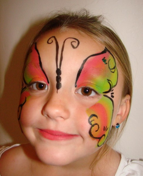 """Creating Smiles from the Heart"" - Face Painter - Oxnard, CA"