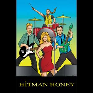 Palm Springs Wedding Band | Hitman Honey