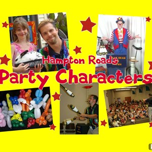 Norfolk Costumed Character | Hampton Roads Party Characters