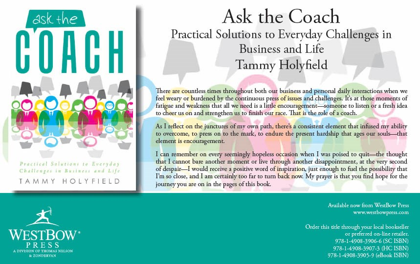 Tammy's latest book ASK the COACH