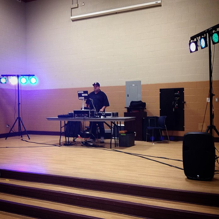 Huge Setup - Private Event 9/13/14