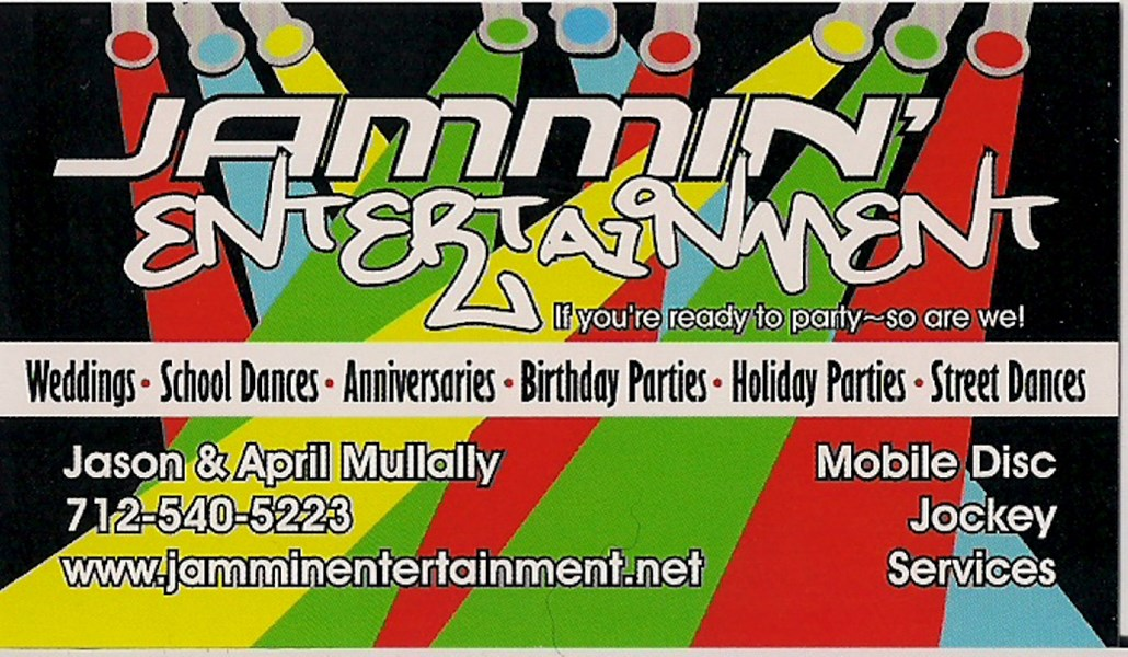 Jammin Entertainment Mobile Music - DJ - Le Mars, IA