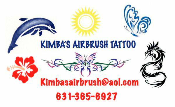 KIMBAS AIRBRUSH TATTOO PARTY ENTERTAINMENT - Body Painter - Smithtown, NY