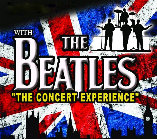 "WITH THE BEATLES ""THE CONCERT EXPERIENCE"" - Beatles Tribute Band - Lakewood, CA"