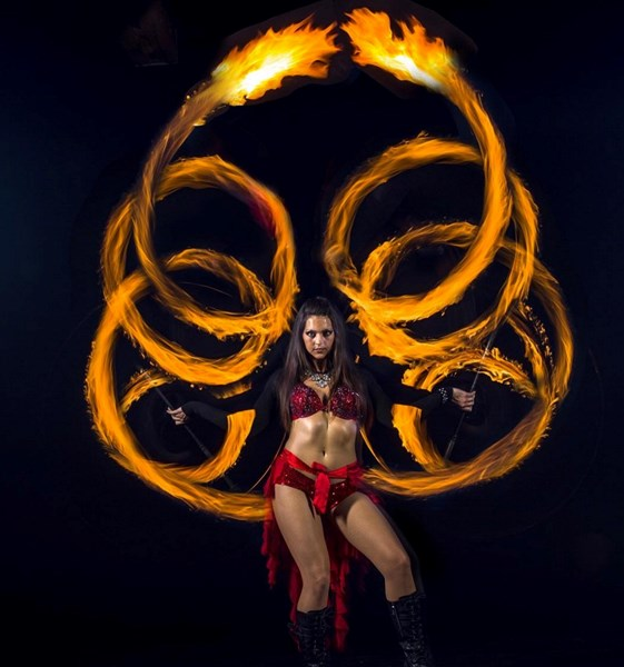 Natalia Dance - Fire Dancer - Los Angeles, CA