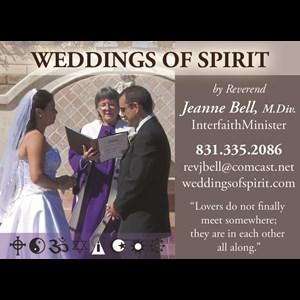 Oakland Wedding Officiant | weddingsofspirit