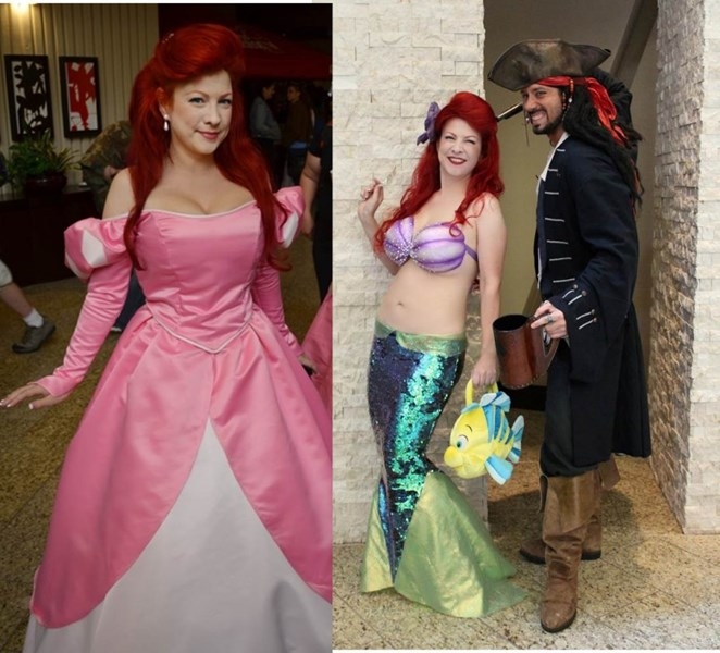 Mermaid Scarlet - Princess Party - Dallas, TX