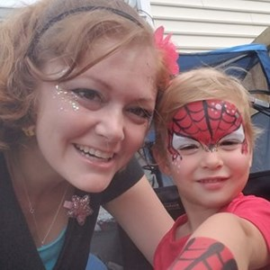 North Charleston, SC Body Painter | Brilliant Faces face painting
