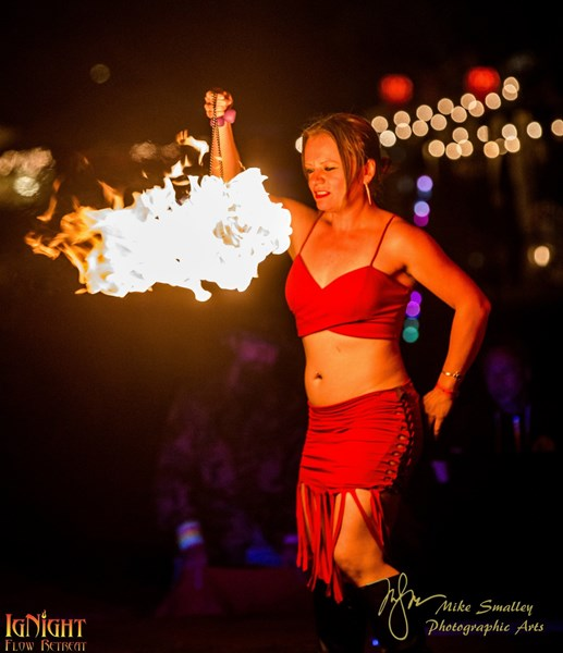 AnaFirelight - Fire Dancer - Oakland, CA