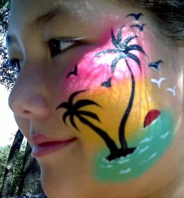 L'ARTISTE A LA CARTE | Millbrae, CA | Face Painting | Photo #2