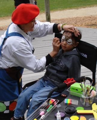 L'ARTISTE A LA CARTE | Millbrae, CA | Face Painting | Photo #7