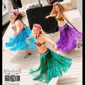 St Petersburg Singing Telegram | Paradise Dancers Hawaiian Hula/fire And Mermaid