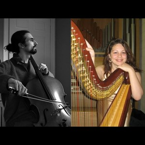 Saco Chamber Musician | Lily Press, Harp and Simon Linn-Gerstein, Cello
