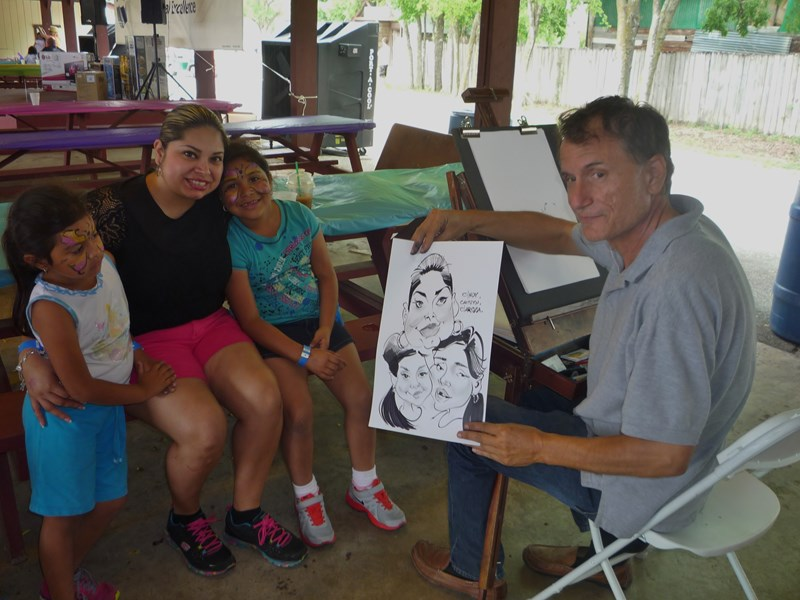 Caricatures ink - Caricaturist - Houston, TX