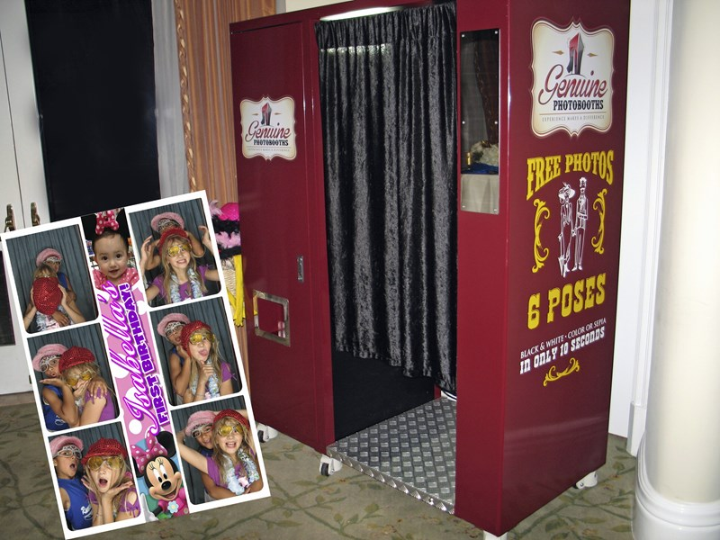 Genuine Photobooths - Photo Booth - Fontana, CA