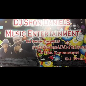 Irving Party DJ | DJ Shon Daniels