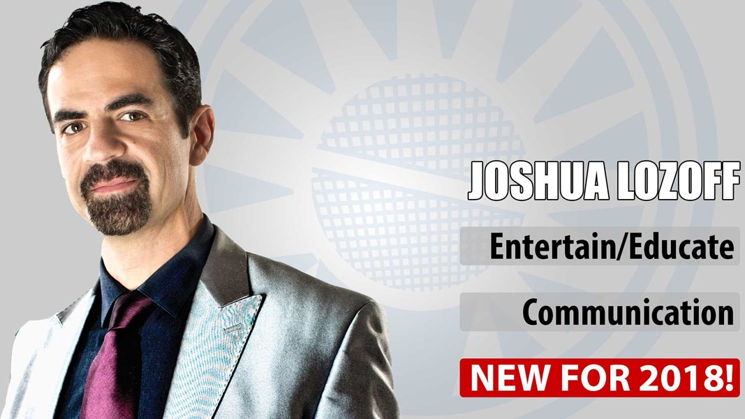 Joshua Lozoff: The Magic of Communication - Motivational Speaker - New Orleans, LA