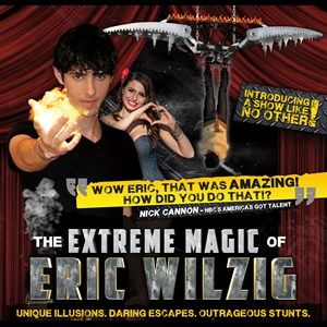 Long Island Street Magician | Extreme Magic Of Eric Wilzig -America's Got Talent