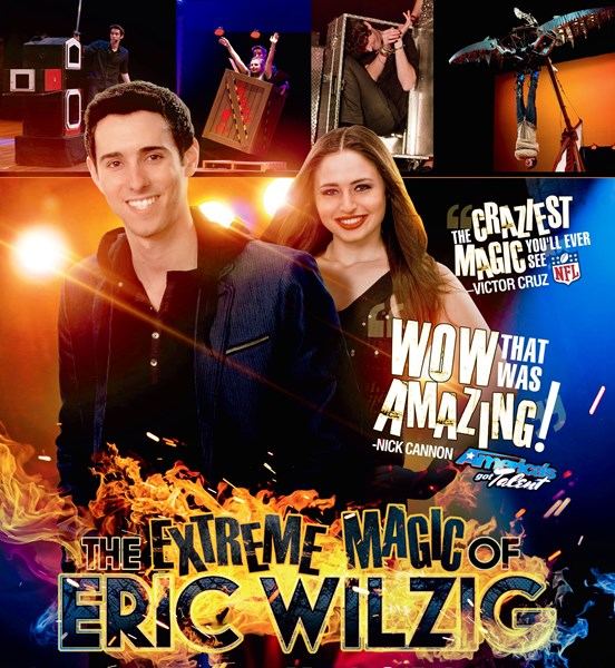 Extreme Magic Of Eric Wilzig -America's Got Talent - Magician - Woodmere, NY