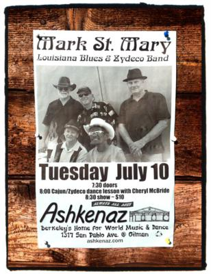 Mark St. Mary Louisiana Blues & Zydeco Band | Antelope, CA | Zydeco Band | Photo #25
