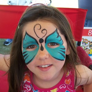 Glen Rose Face Painter | Faces by Ashley