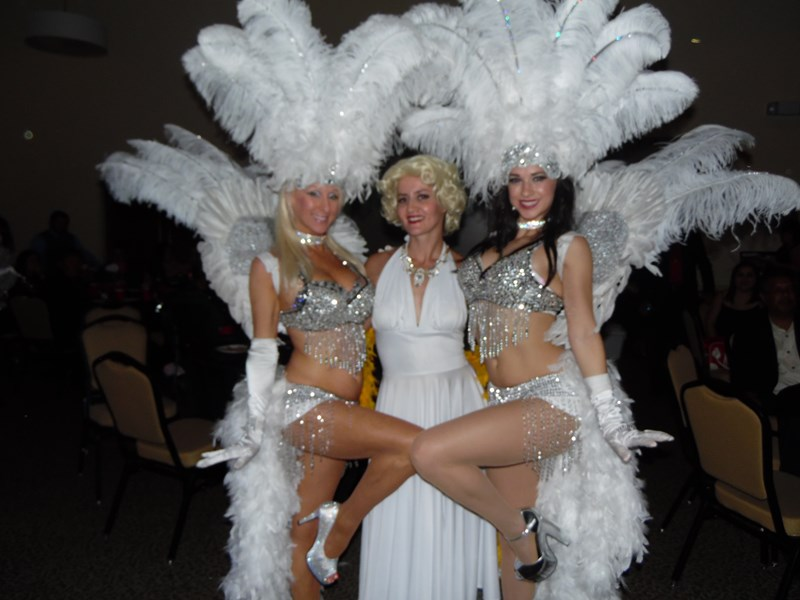 Vegas Style Show Girls Of Tampa - Marilyn Monroe Impersonator - Tampa, FL