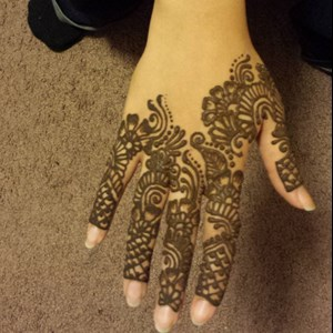 South Bend Temporary Tattoo Artist | Halo Hair and Henna