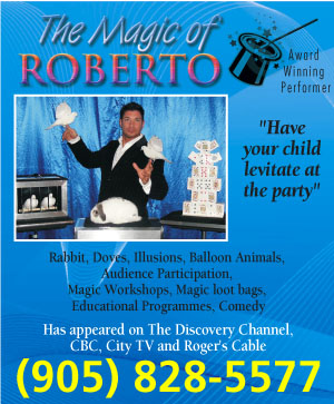 The Magic of Roberto - Magician - Mississauga, ON