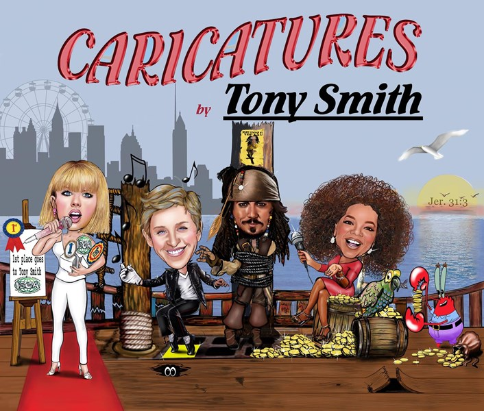 Caricatures by TONY SMITH  - Caricaturist - Atlanta, GA