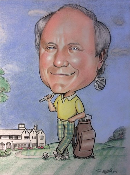 Caricature by photo $150-$200 w/mat