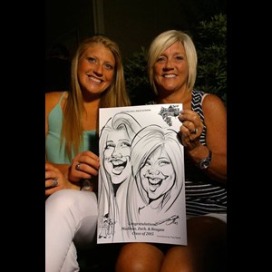 Phil Campbell Caricaturist | Caricatures by KIM & TONY SMITH