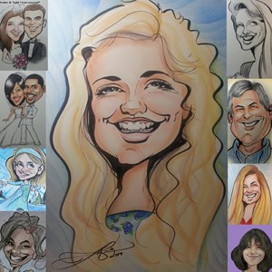 Atlanta Caricaturist | Caricatures by Tony SMITH