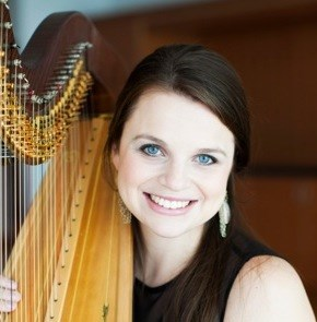 Garland Harpist | Grace Browning, Dallas Harpist