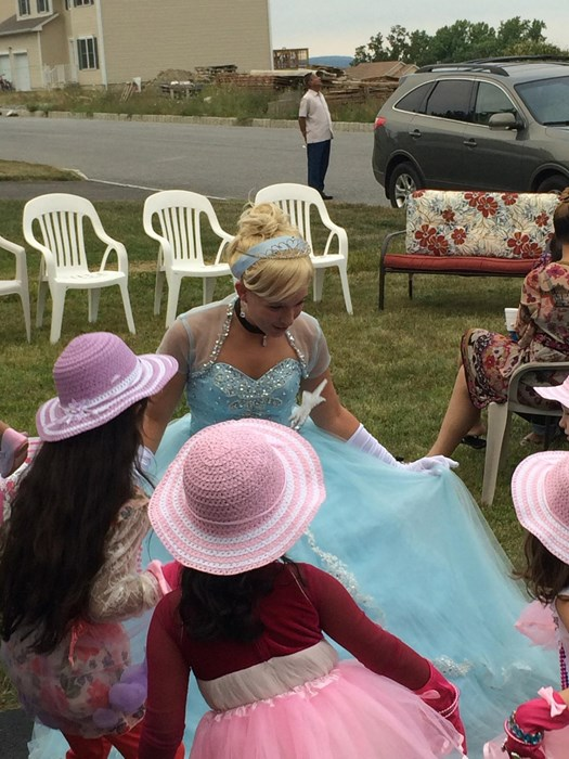 Cinderella Princess lesson