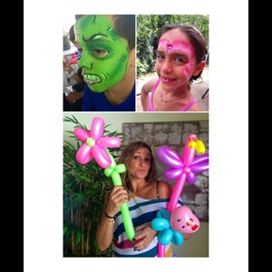 Boca Raton, FL Face Painter | Say It With Fun Entertainment: face & balloon