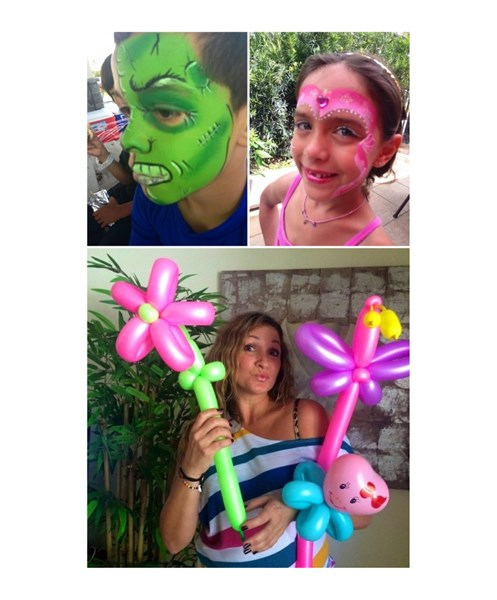 Say It With Fun Entertainment: face & balloon - Face Painter - Boca Raton, FL