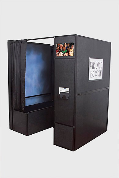 PHOTO BOOTH NOW AVAILABLE