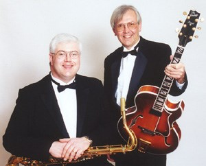 Grand Haven Chamber Musician | Jazz Guitar/Saxophone, flute duo