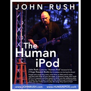 Mohawk Acoustic Guitarist | John Rush - The Human Ipod