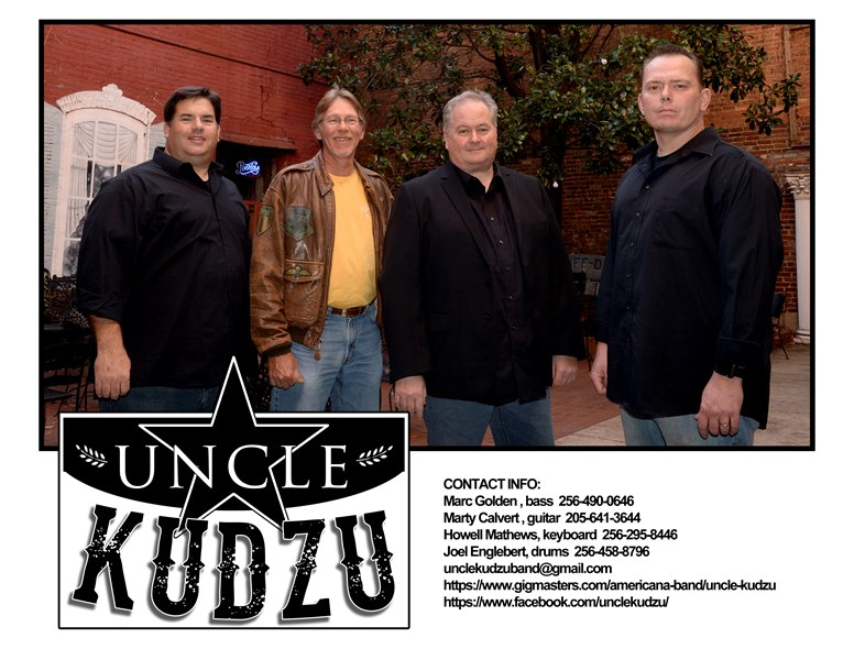Uncle Kudzu - 70s Band - Gadsden, AL