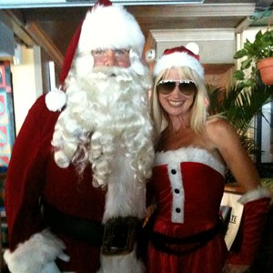 Fort Lauderdale Costumed Character | Little Miss Santa Claus