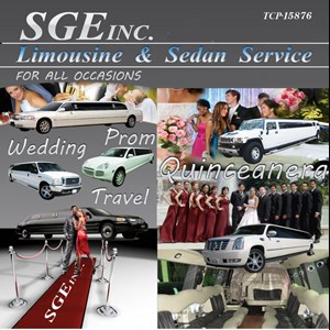California City Wedding Limo | SGE LIMOUSINE