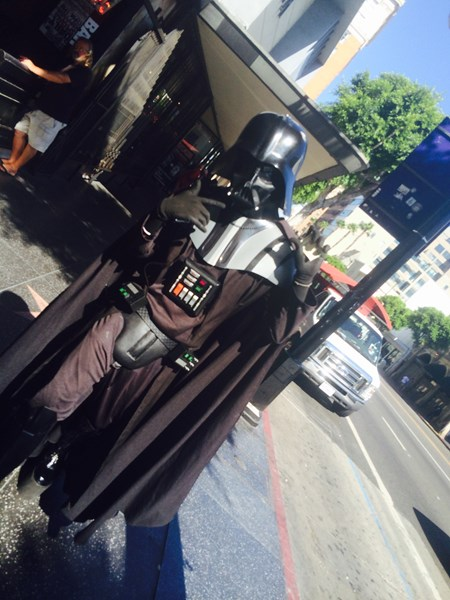 Hollywood Dark Side Darth  - Costumed Character - Los Angeles, CA