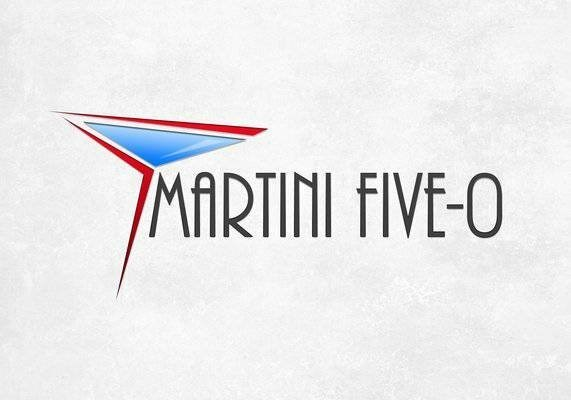 Jazz Band Martini Five-0 Logo