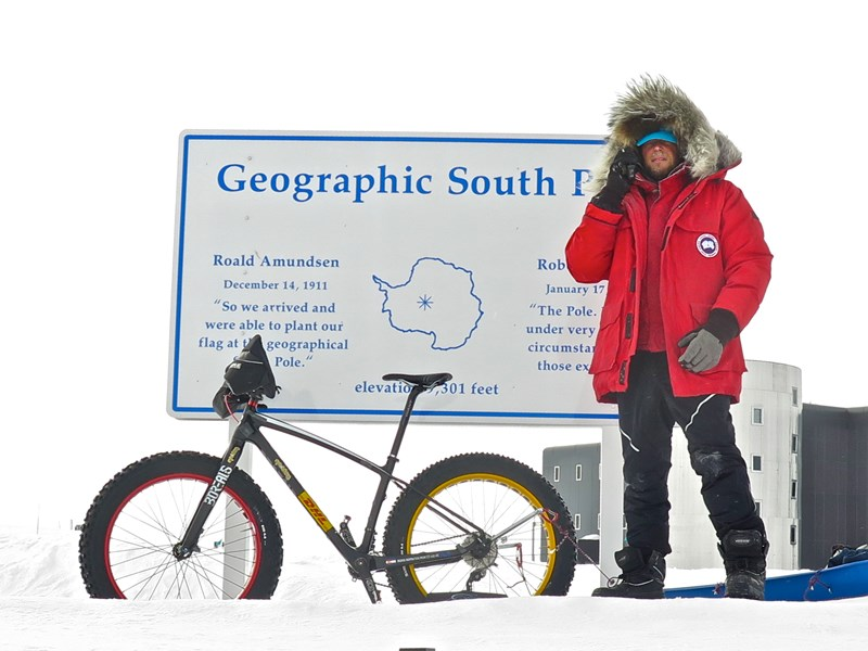 Daniel Burton - South Pole Cyclist - Motivational Speaker - Eagle Mountain, UT