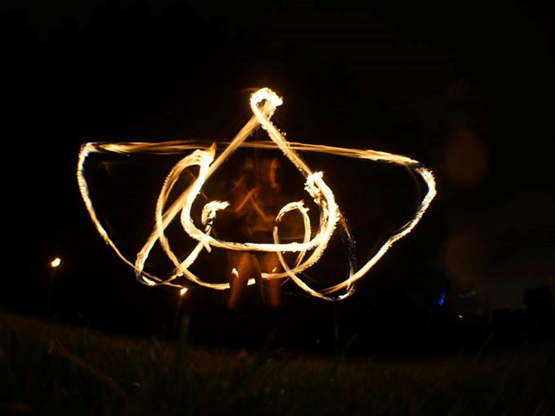 Memory - Fire Dancer - Greensboro, NC
