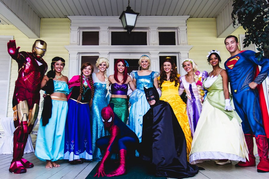 Wishes and Wands Events - Costumed Character - Clayton, NC