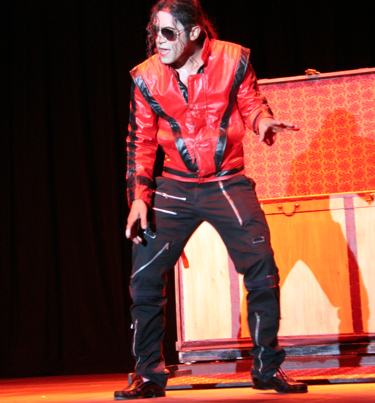 Santana Jackson (Michael Jackson for hire) - Michael Jackson Tribute Act - Las Vegas, NV